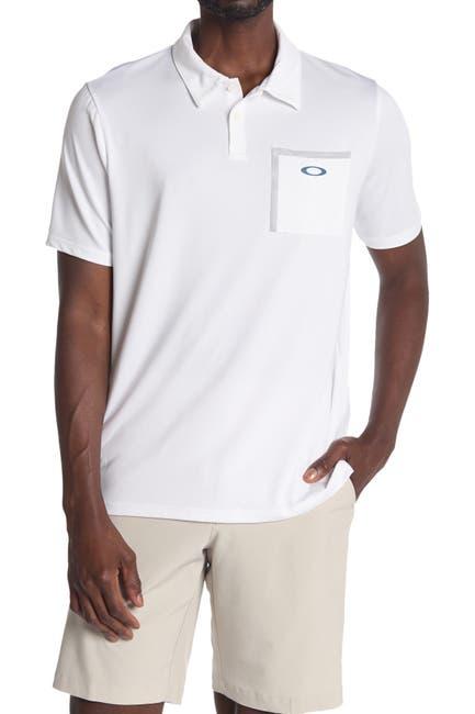 Image of Oakley Logo Pocket Golf Polo