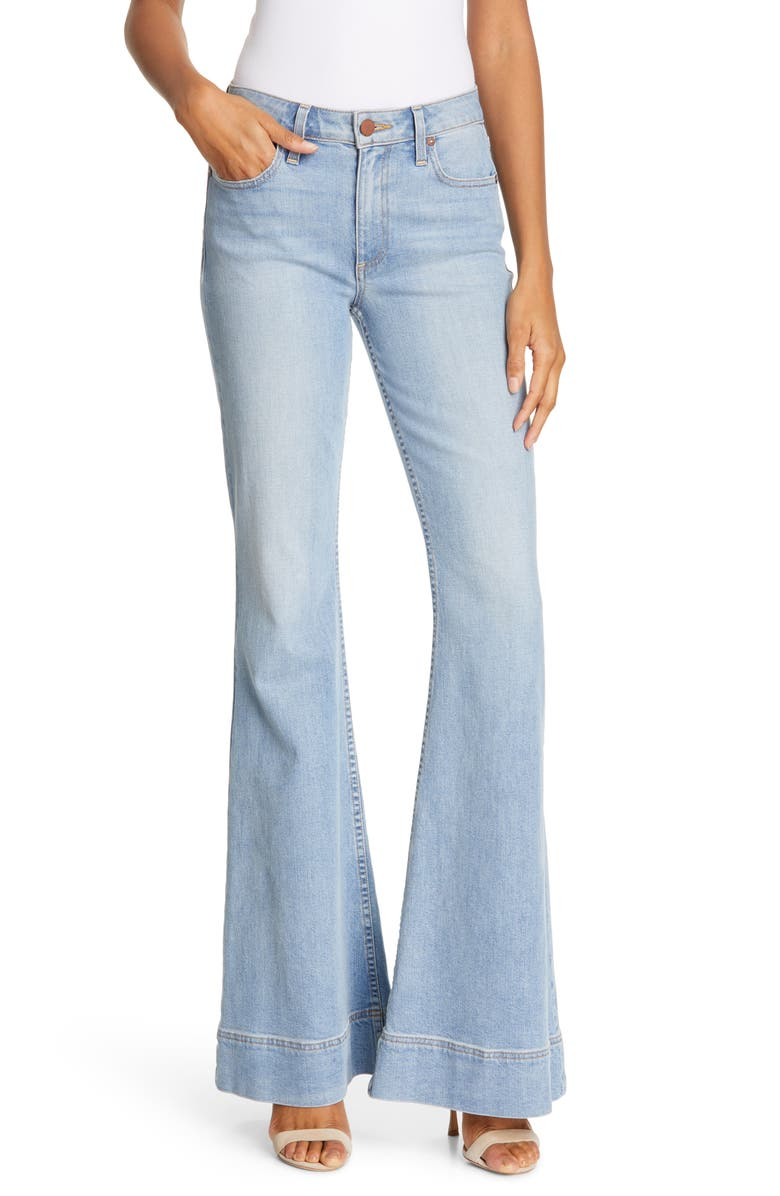 ALICE + OLIVIA JEANS Beautiful Mid-Rise Bell Bottom Jeans, Main, color, 459