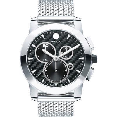 Movado Vizio Chronograph Mesh Strap Watch, 4m