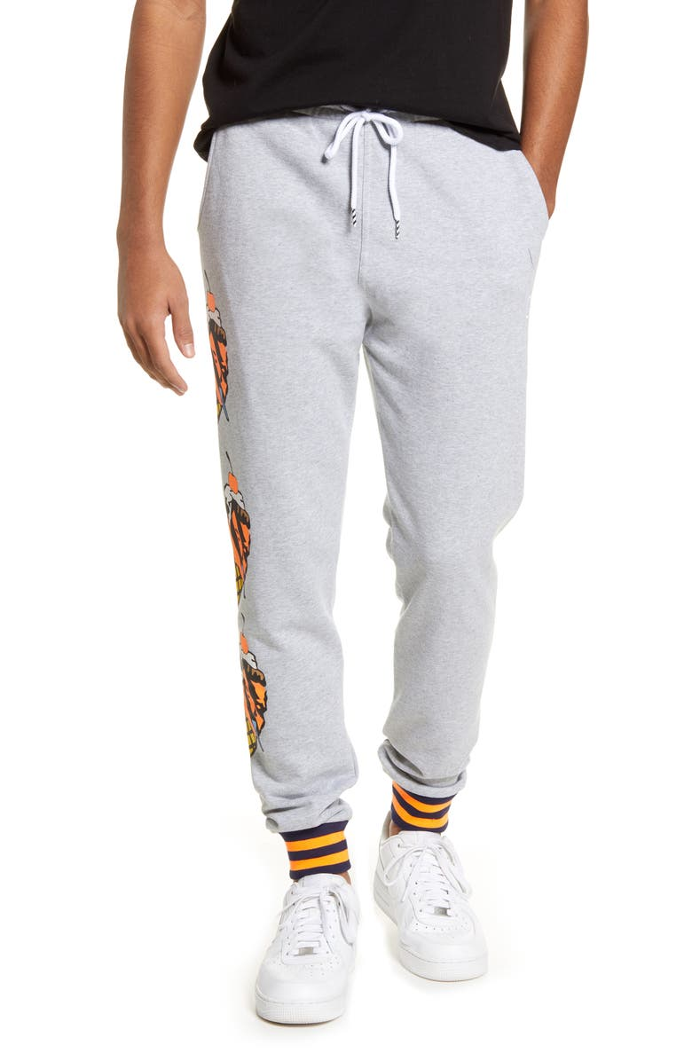 ICECREAM Blackcomb Sweatpants, Main, color, HEATHER GR