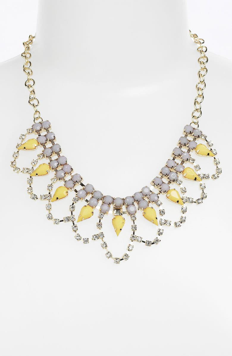 STEPHAN & CO. Statement Necklace, Main, color, 020
