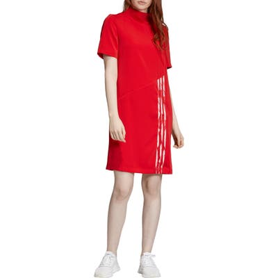 Adidas Originals Danielle Cathari Dress, Red