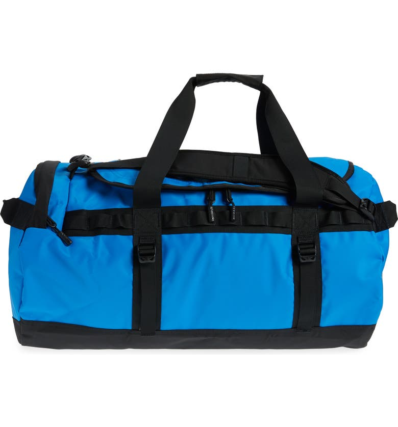 THE NORTH FACE Base Camp Medium Duffel Bag, Main, color, CLEAR LAKE BLUE/ TNF BLACK