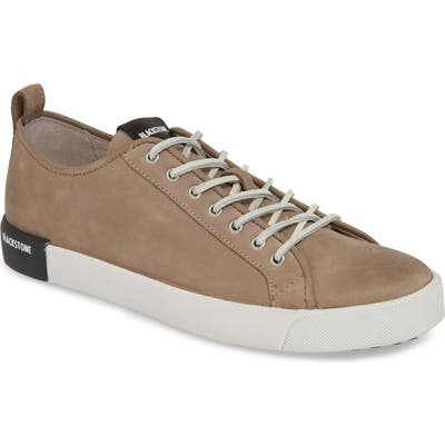 Blackstone Pm66 Low Top Sneaker, Grey