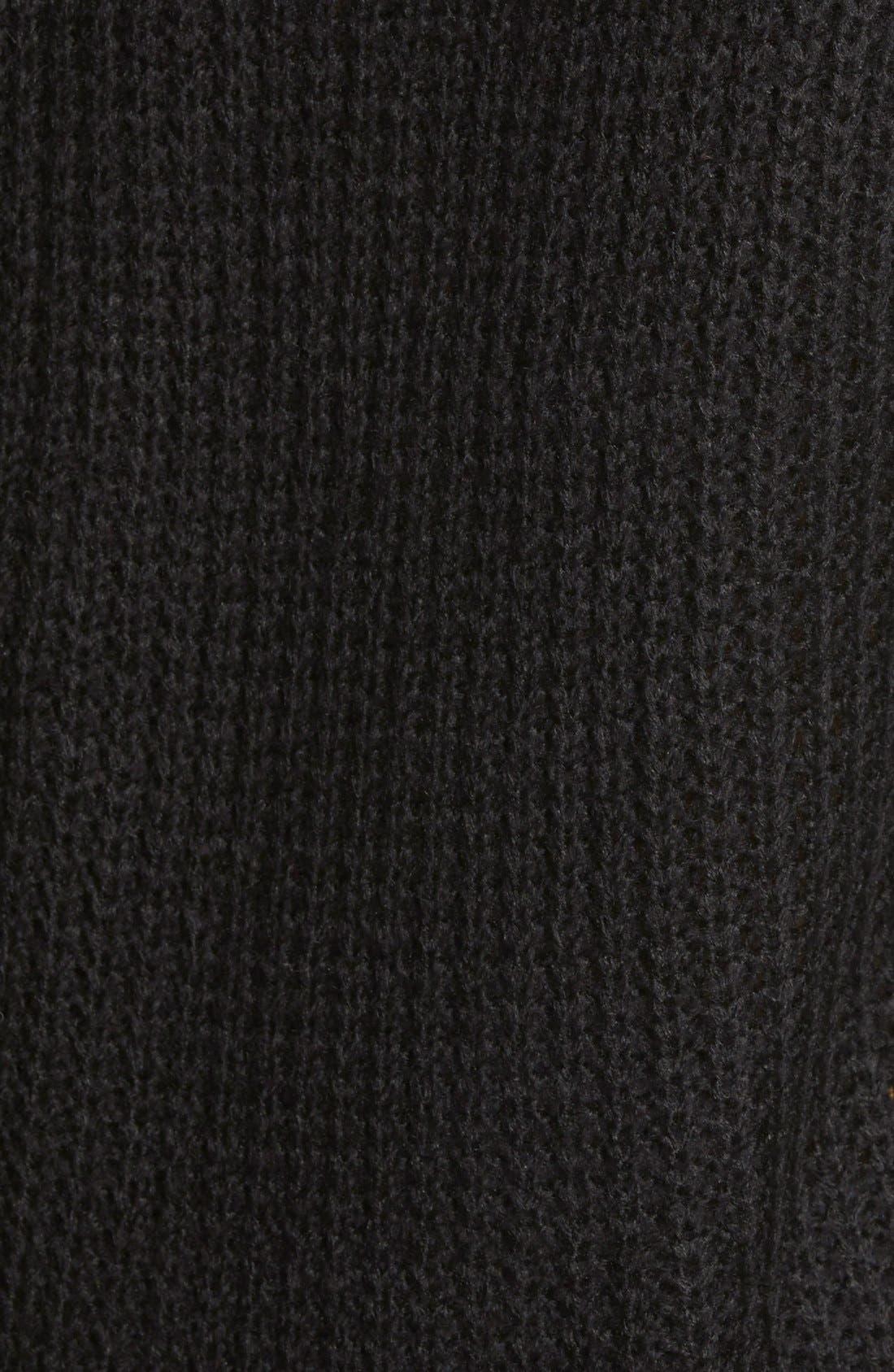 ,                             Cowl Neck Sweater,                             Alternate thumbnail 8, color,                             001