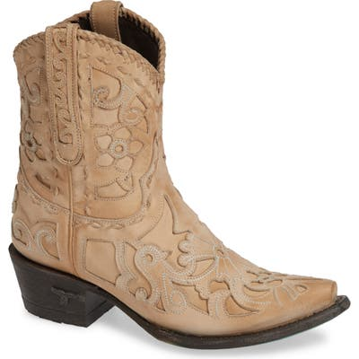 Lane Boots Robin Western Boot- Ivory