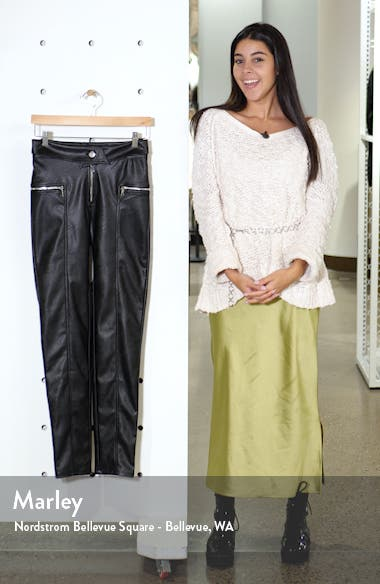 Highlight Faux Leather Pants, sales video thumbnail