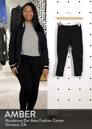 Swift II Crop Leggings, sales video thumbnail