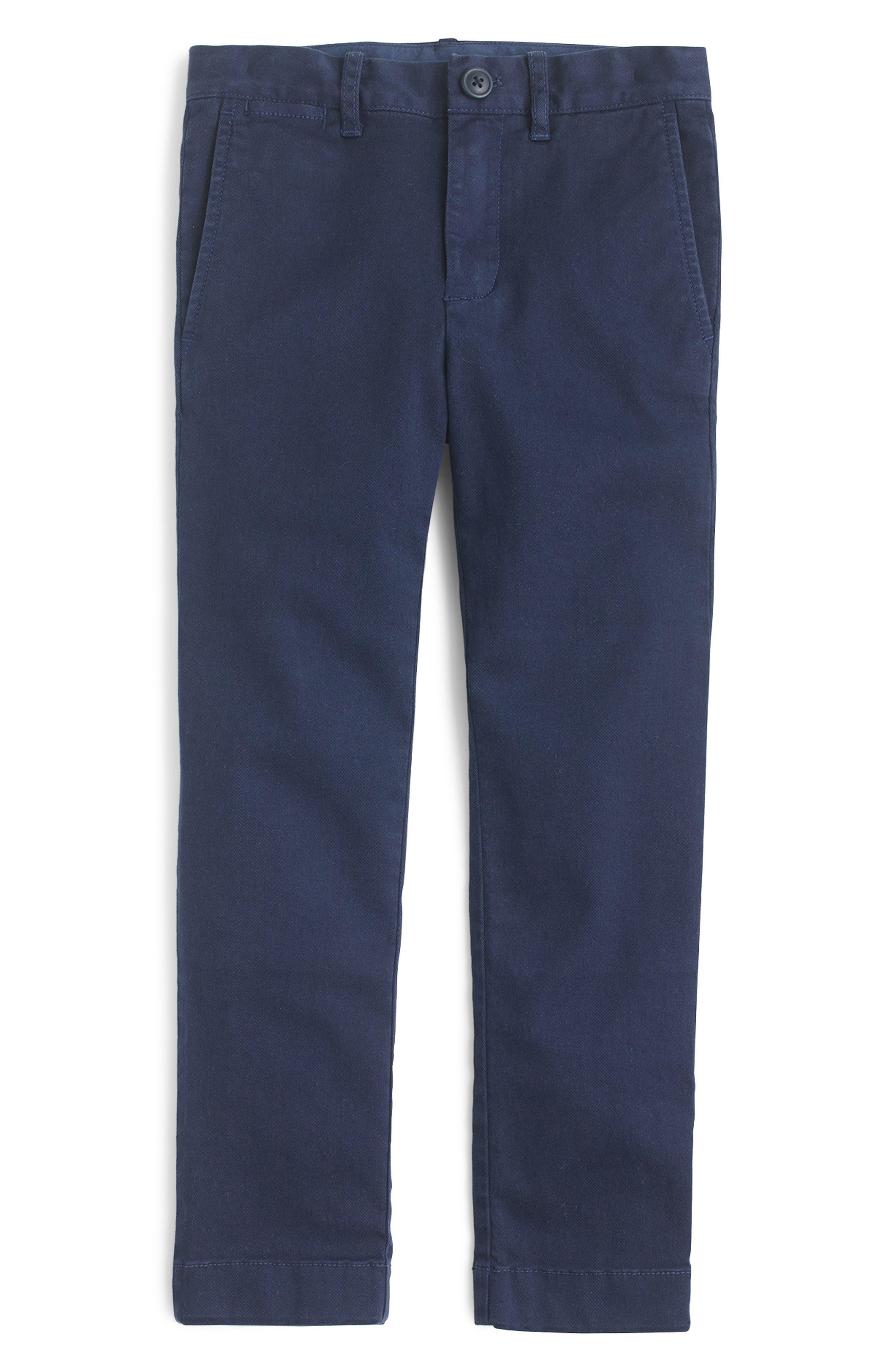 Boys Crewcuts By Jcrew Chino Pants Size 16  Blue