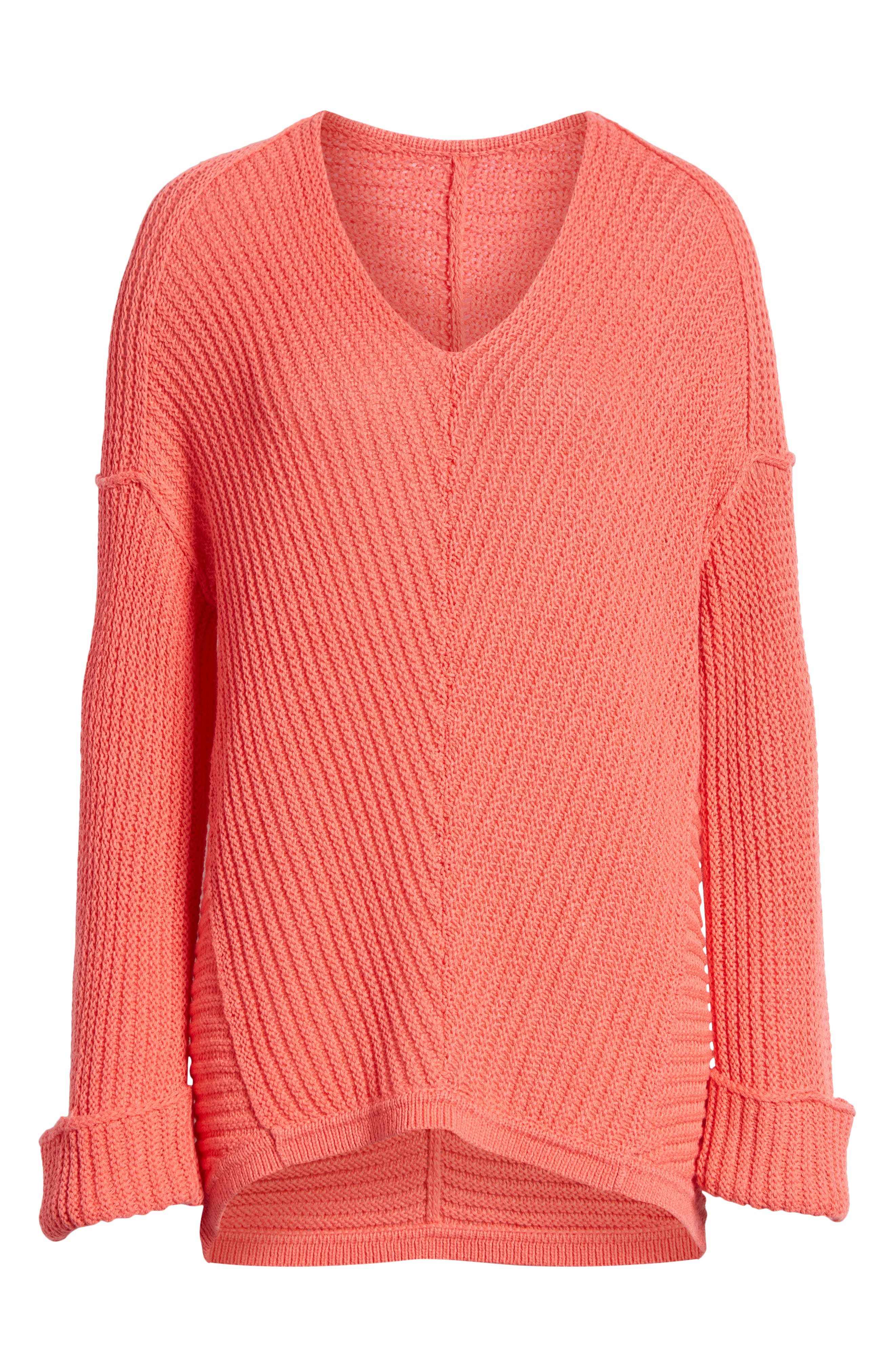 ,                             Cuffed Sleeve Sweater,                             Alternate thumbnail 54, color,                             958