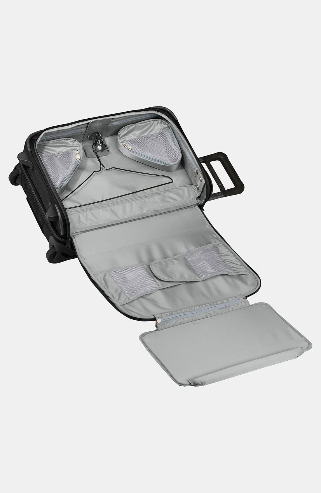 ,                             'Baseline - Domestic' Rolling Carry-On Garment Bag,                             Alternate thumbnail 7, color,                             BLACK
