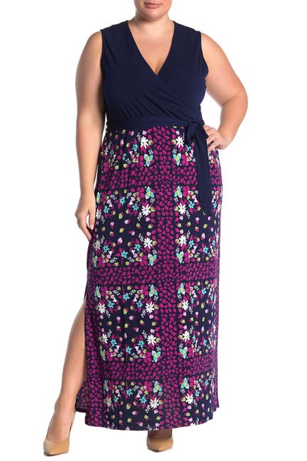 Image of Leota Geometric Print Maxi Dress