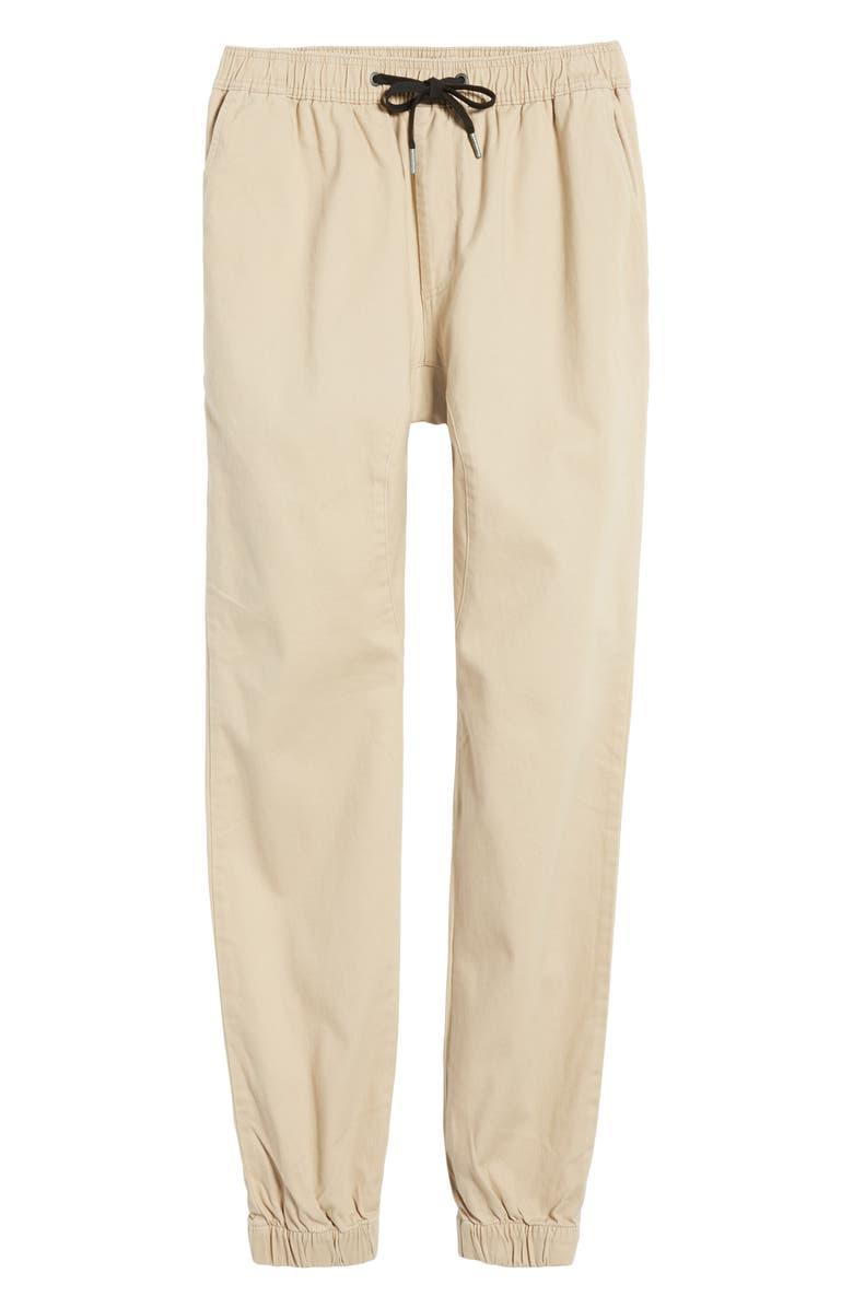 ZANEROBE Sureshot Skinny Fit Jogger Pants, Main, color, TAN