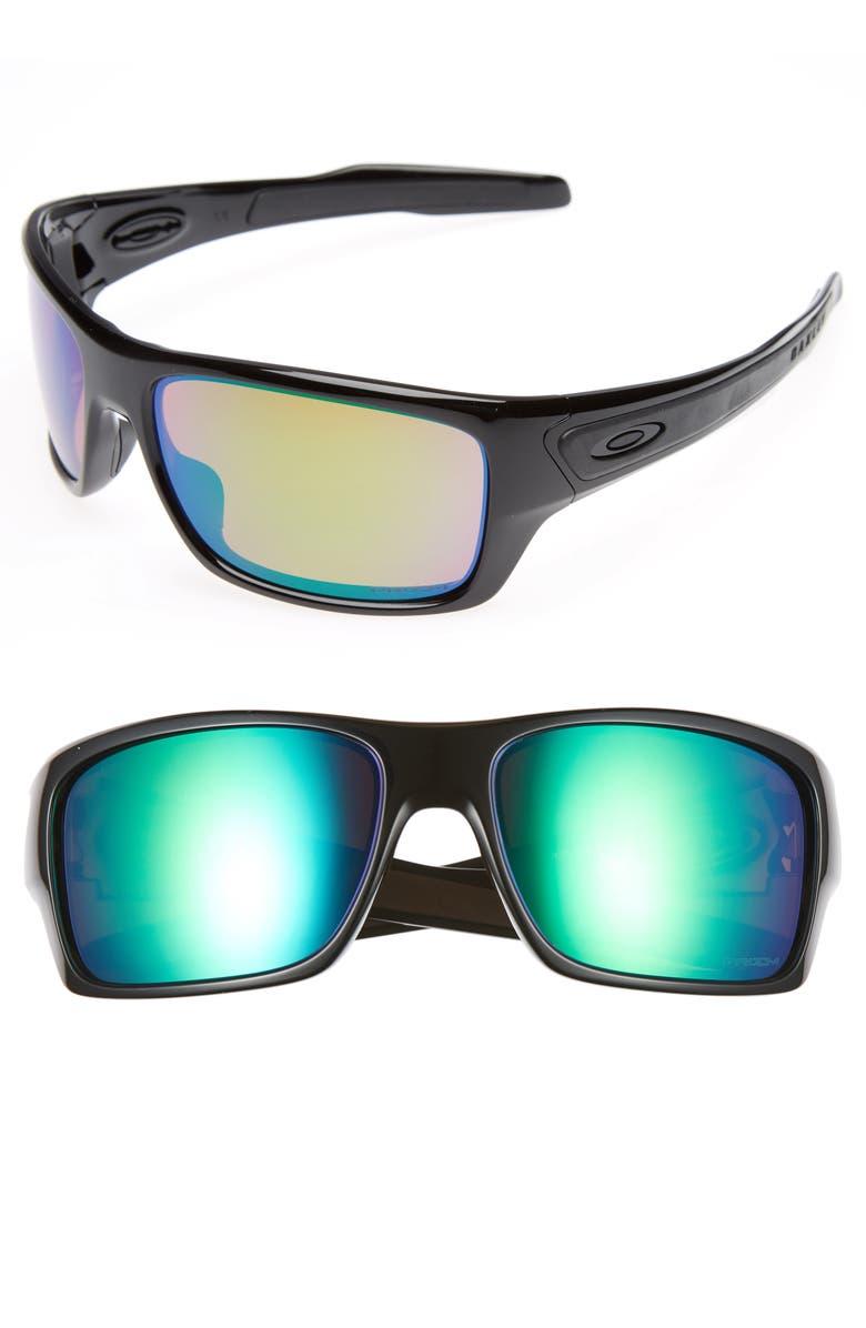 OAKLEY Turbine H2O 65mm Polarized Sunglasses, Main, color, 001