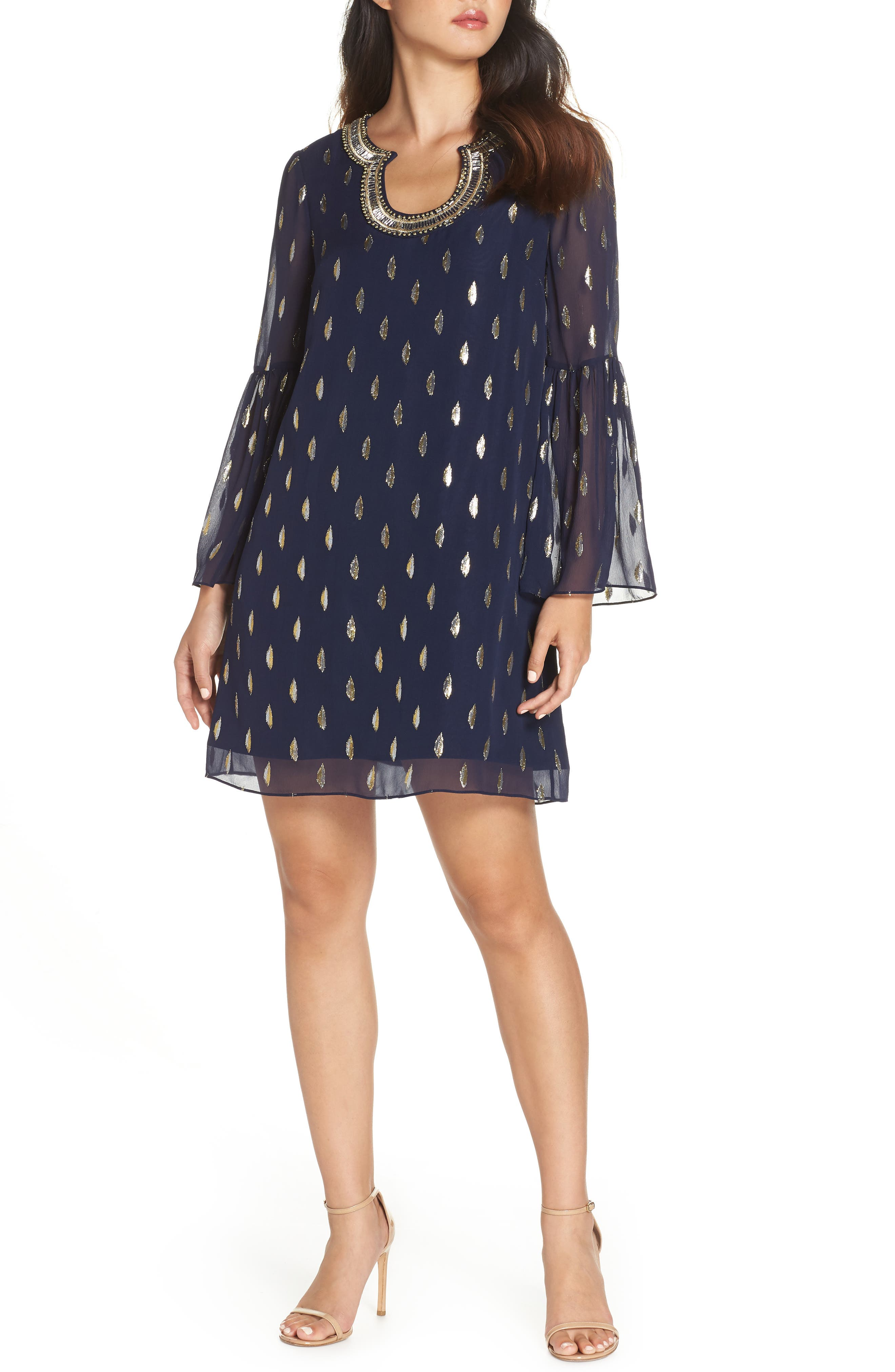 Lilly Pulitzer Amory Silk Shift Dress