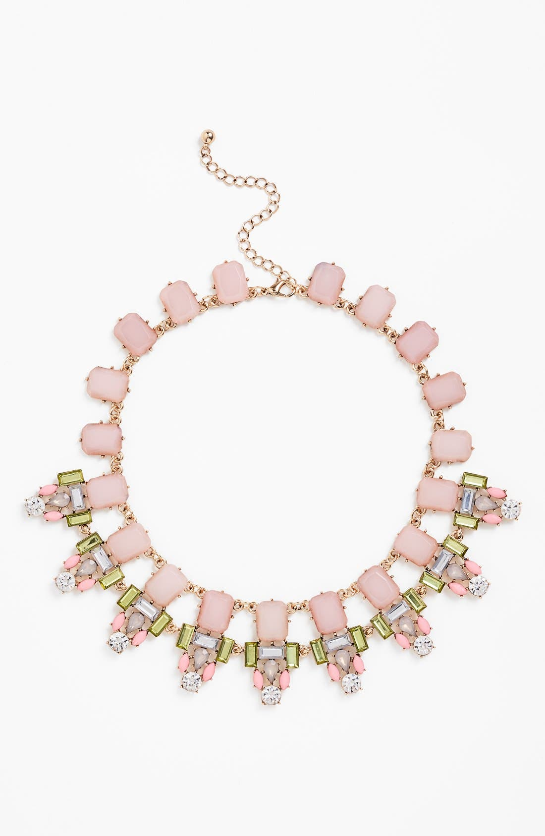 'All Around' Statement Necklace, Main, color, 650