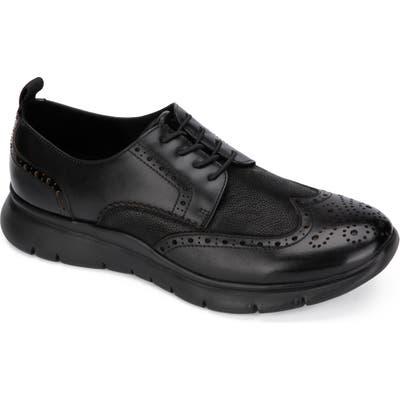 Kenneth Cole New York Trent Wingtip Sneaker- Black