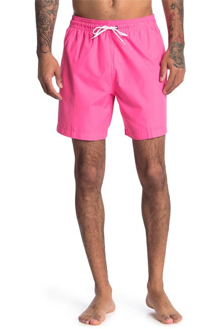 Image of Trunks Surf and Swim CO. Sano Solid Swim Shorts