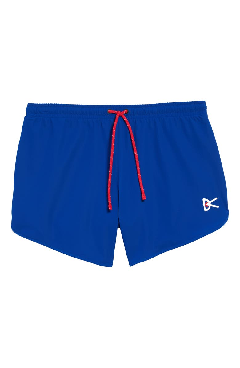 DISTRICT VISION Spino Performance Shorts, Main, color, BLUE
