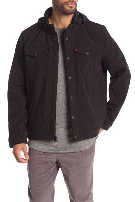 Image of Levi's Funnel Neck Hooded Jacket