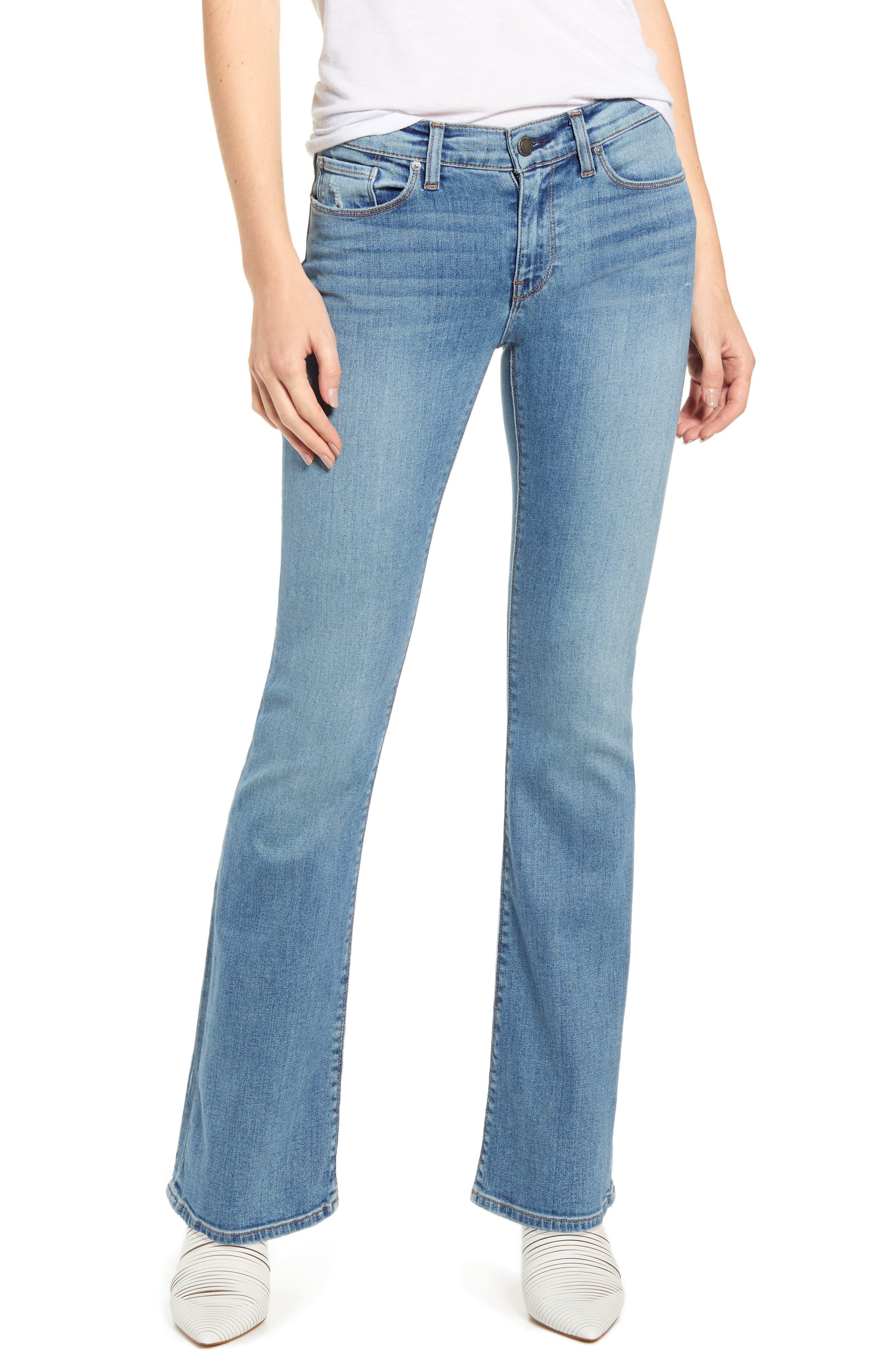 Petite Women's Hudson Jeans Drew Bootcut Jeans
