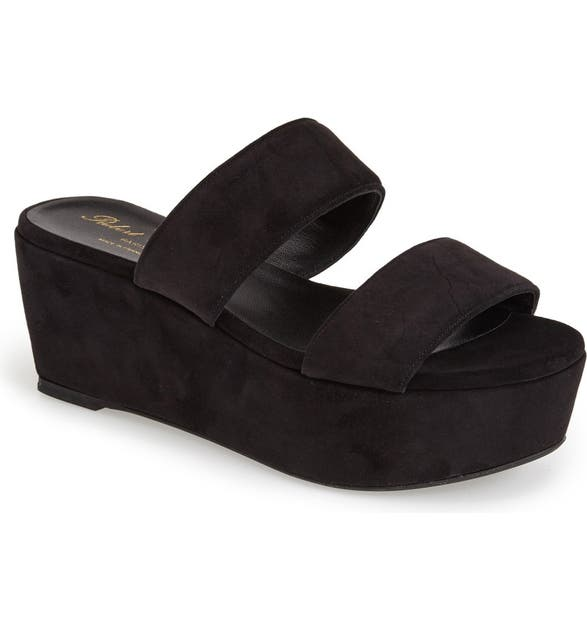 677faca6103 Robert Clergerie 'Frazzia' Double Band Platform Sandal (Women ...
