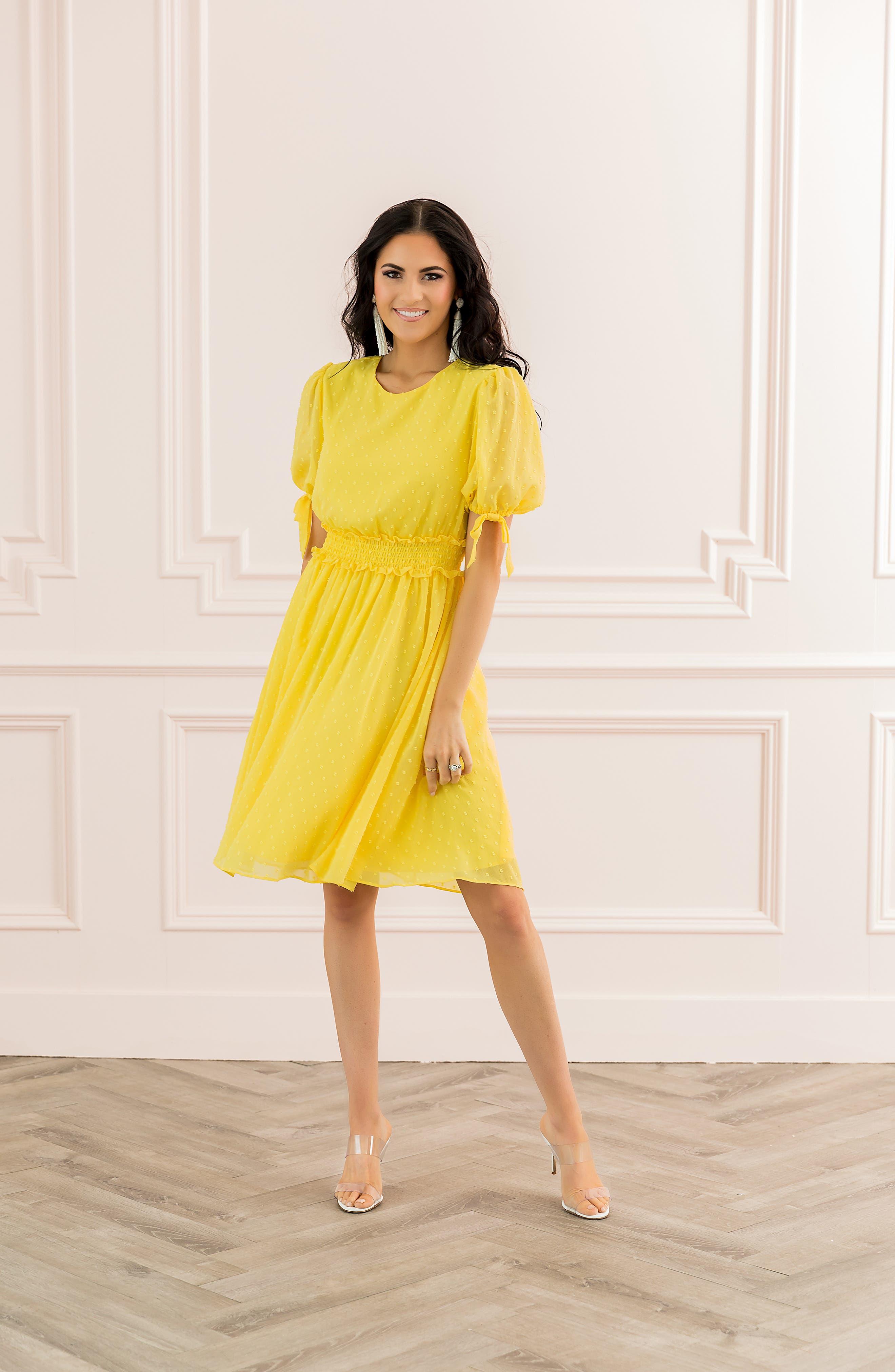 ,                             Smocked Waist Dress,                             Alternate thumbnail 8, color,                             720