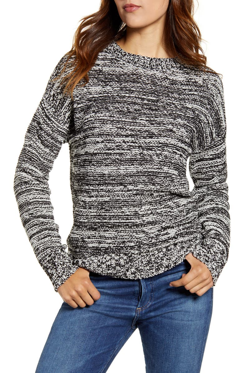 LUCKY BRAND Crewneck Sweater, Main, color, 009