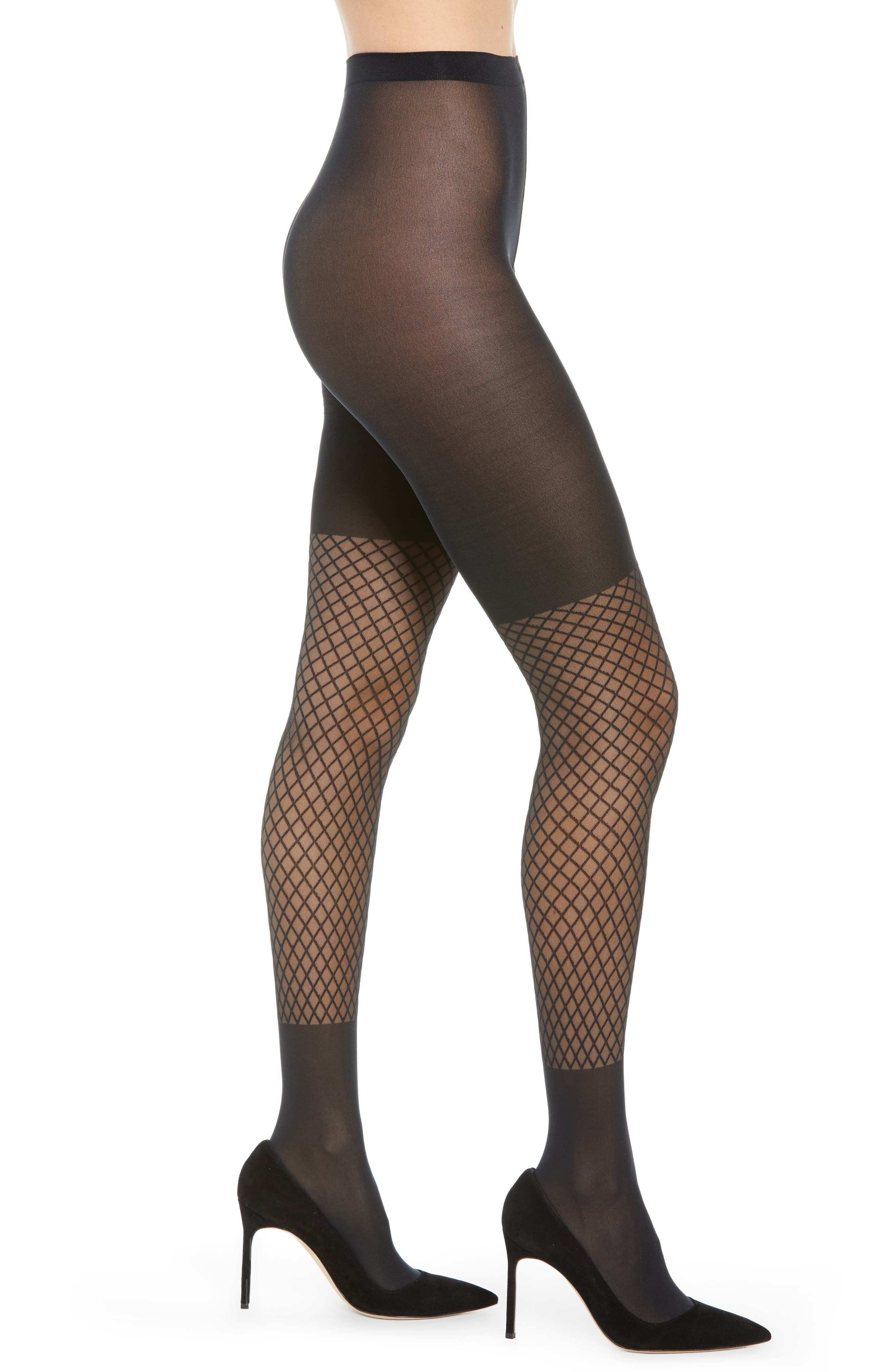 Image of WOLFORD Intense Net Print Tights