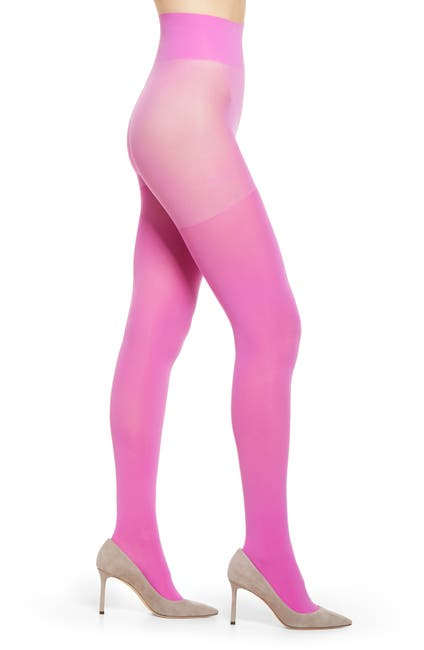 Image of Halogen® x Atlantic-Pacific Opaque Tights