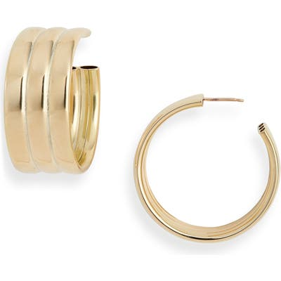 Laura Lombardi Gianna Hoop Earrings