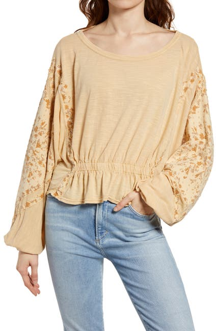Image of Free People Throwback Top