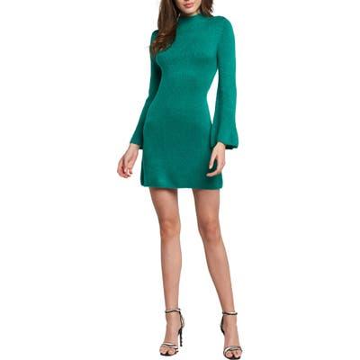 Bardot Tash Sweater Dress, Green