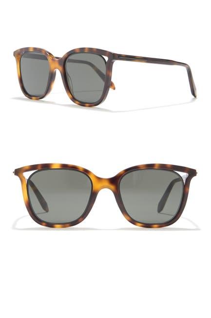 Image of Victoria Beckham 50mm Rectangle Sunglasses