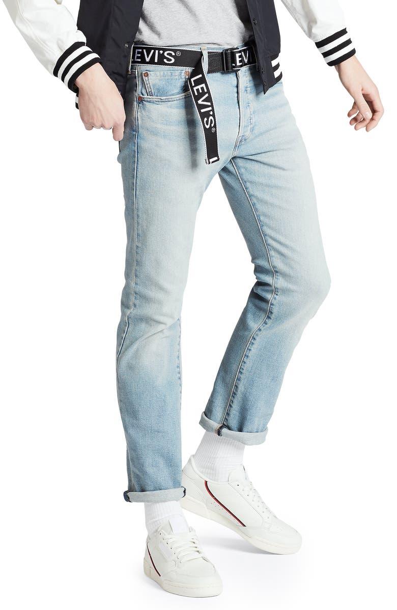 LEVI'S<SUP>®</SUP> 501<sup>®</sup> Original Straight Leg Jeans, Main, color, CONEFLOWER