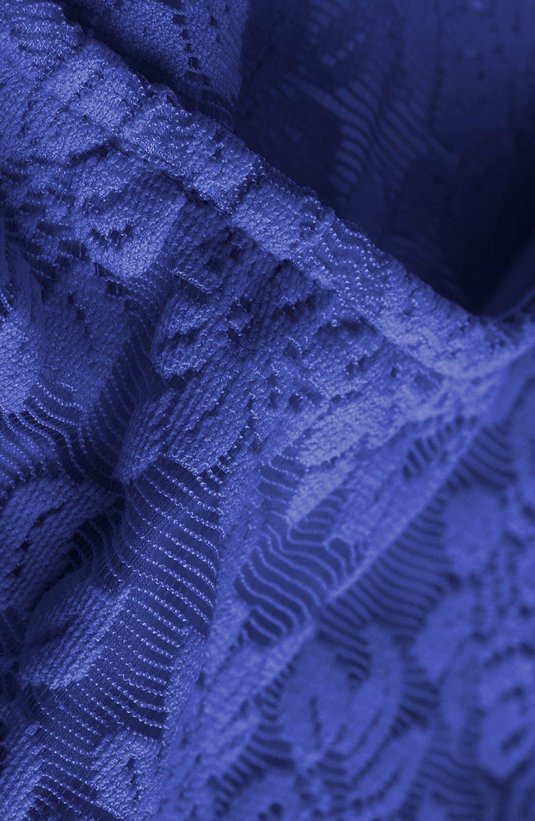 ,                             Lace Crop Top,                             Alternate thumbnail 7, color,                             430