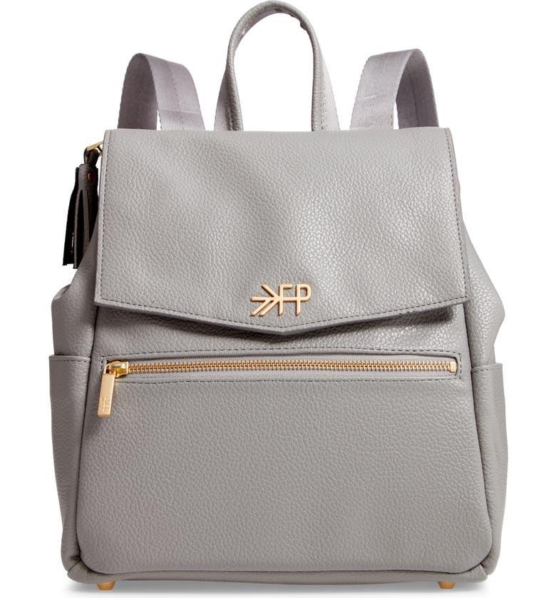 FRESHLY PICKED Mini Convertible Diaper Bag, Main, color, STONE