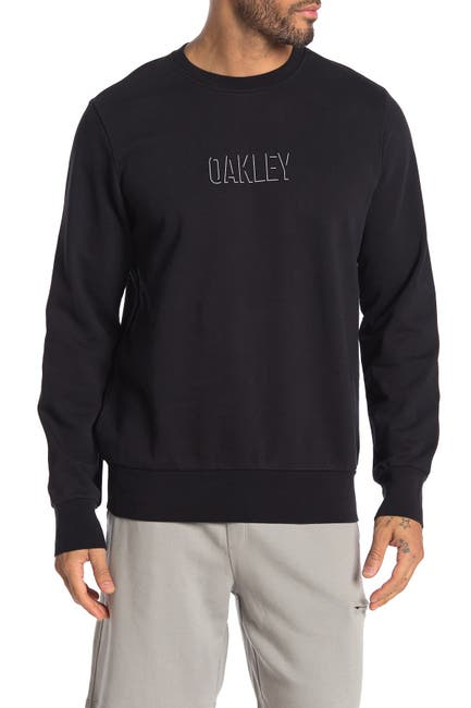 Image of Oakley Crew Neck Front Logo Pullover