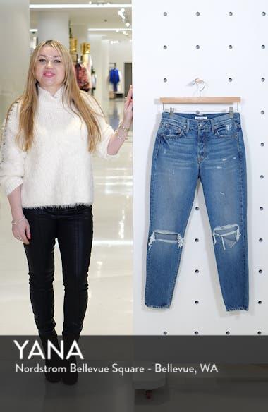 Karolina Ripped High Waist Skinny Jeans, sales video thumbnail