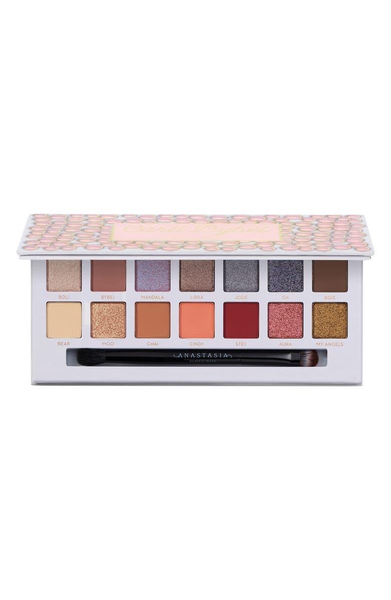 ANASTASIA BEVERLY HILLS x Carli Bybel Eye Shadow & Pressed Pigment Palette, Main, color, 000