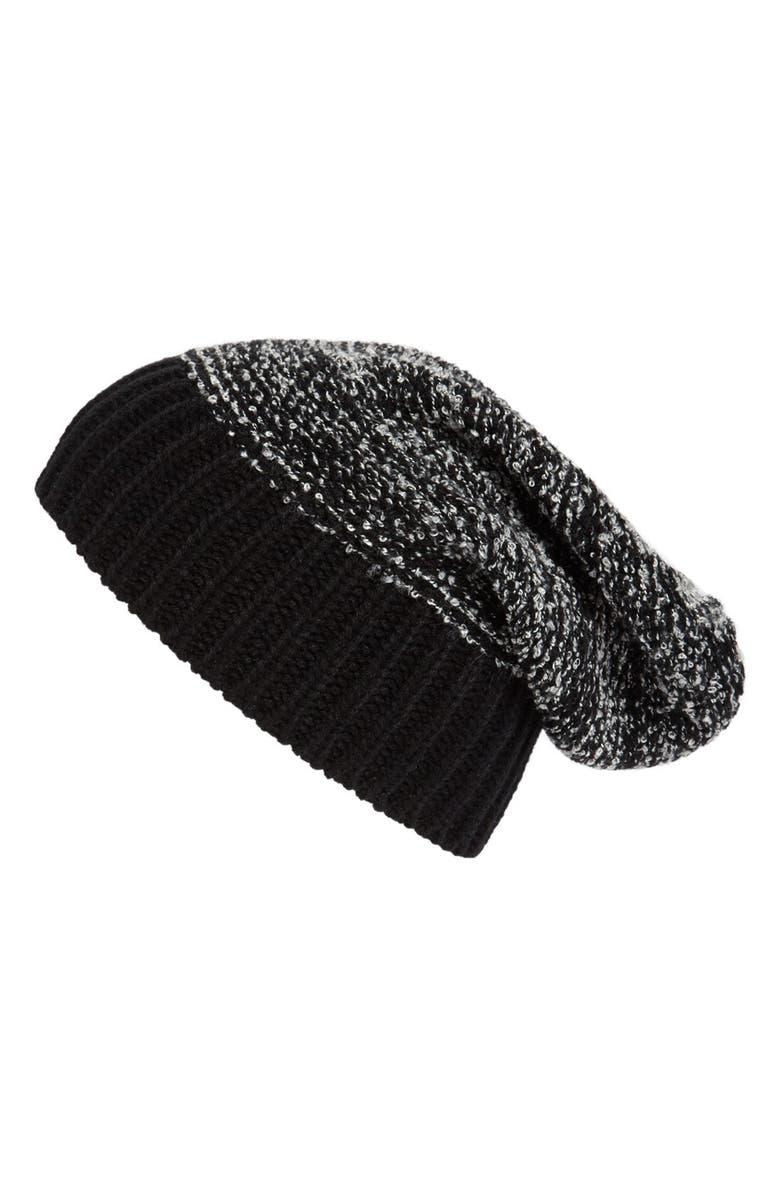 TARNISH Knit Beanie, Main, color, 001