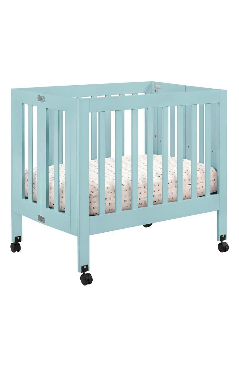 Origami Mini Crib In Washed Natural - Bellini Baby and Teen Furniture | 1196x780