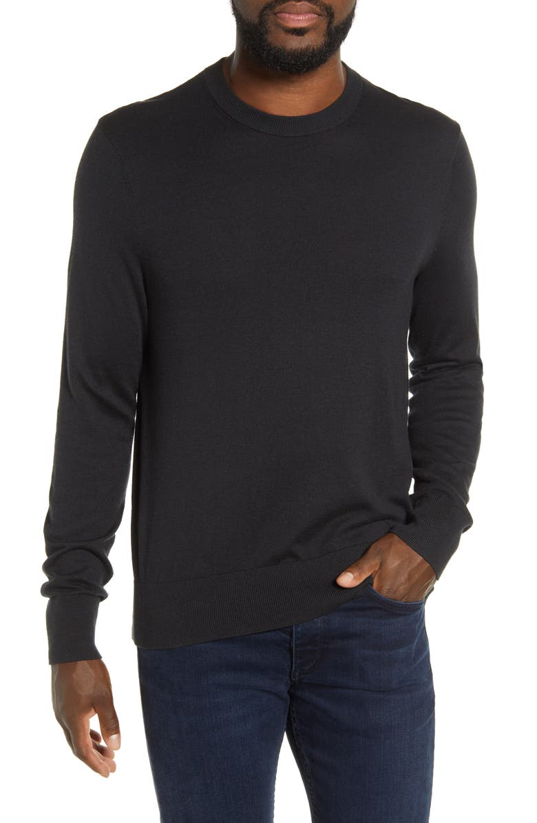 RAG & BONE Barrow Colorblock Sweater, Main, color, 001