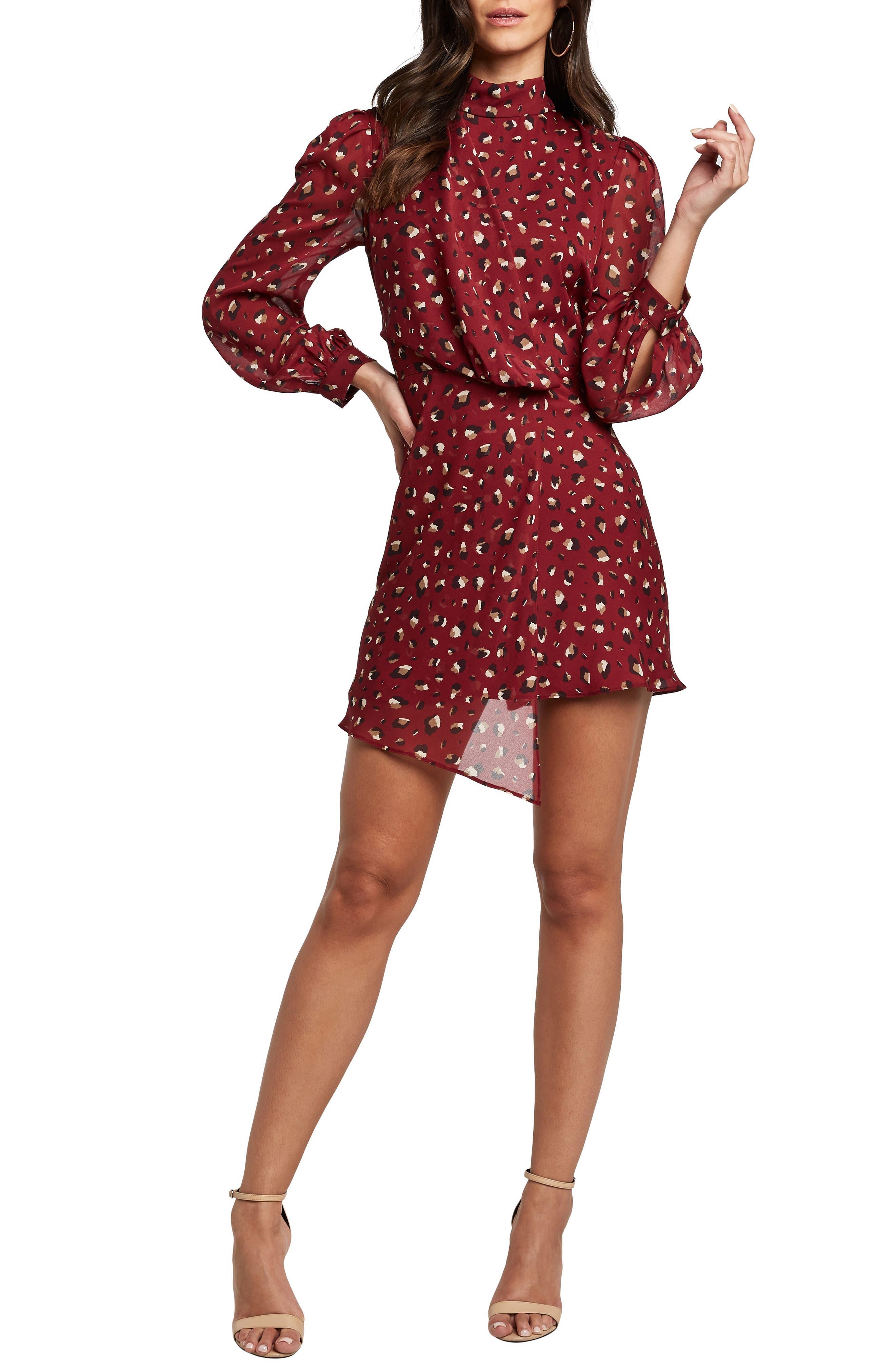 Bardot Dresses Kalia Long Sleeve Minidress