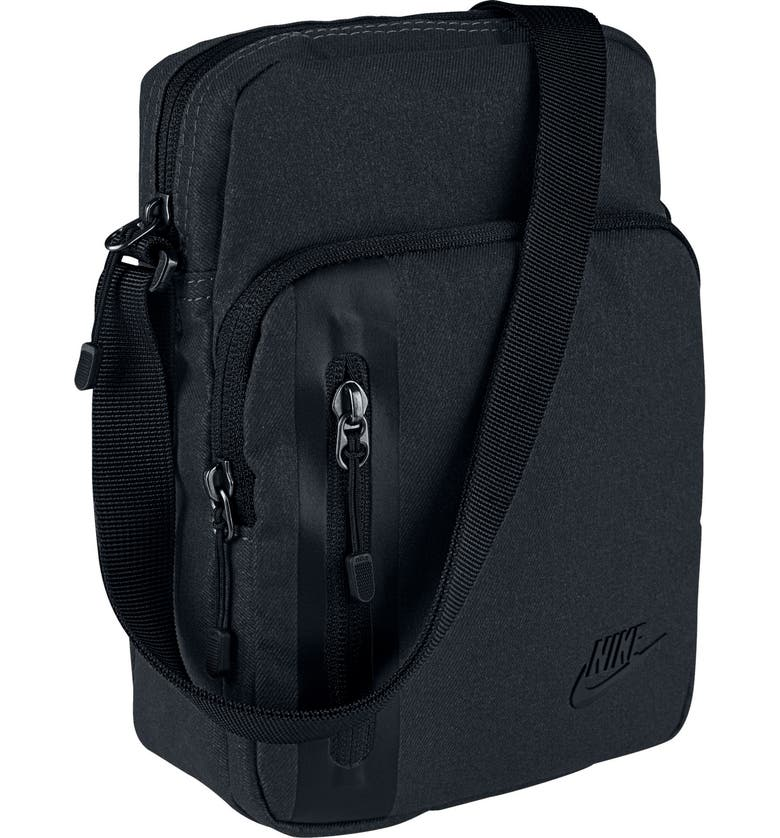 NIKE Tech Small Items Bag, Main, color, BLACK/ BLACK/ BLACK