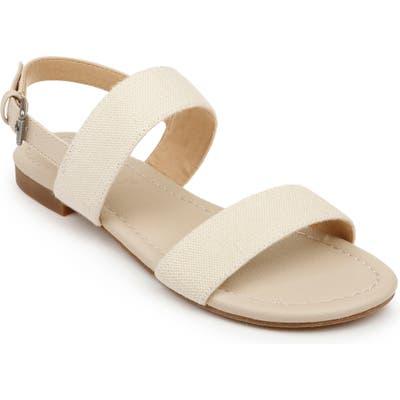 Splendid Andrew Quarter Strap Sandal- Beige
