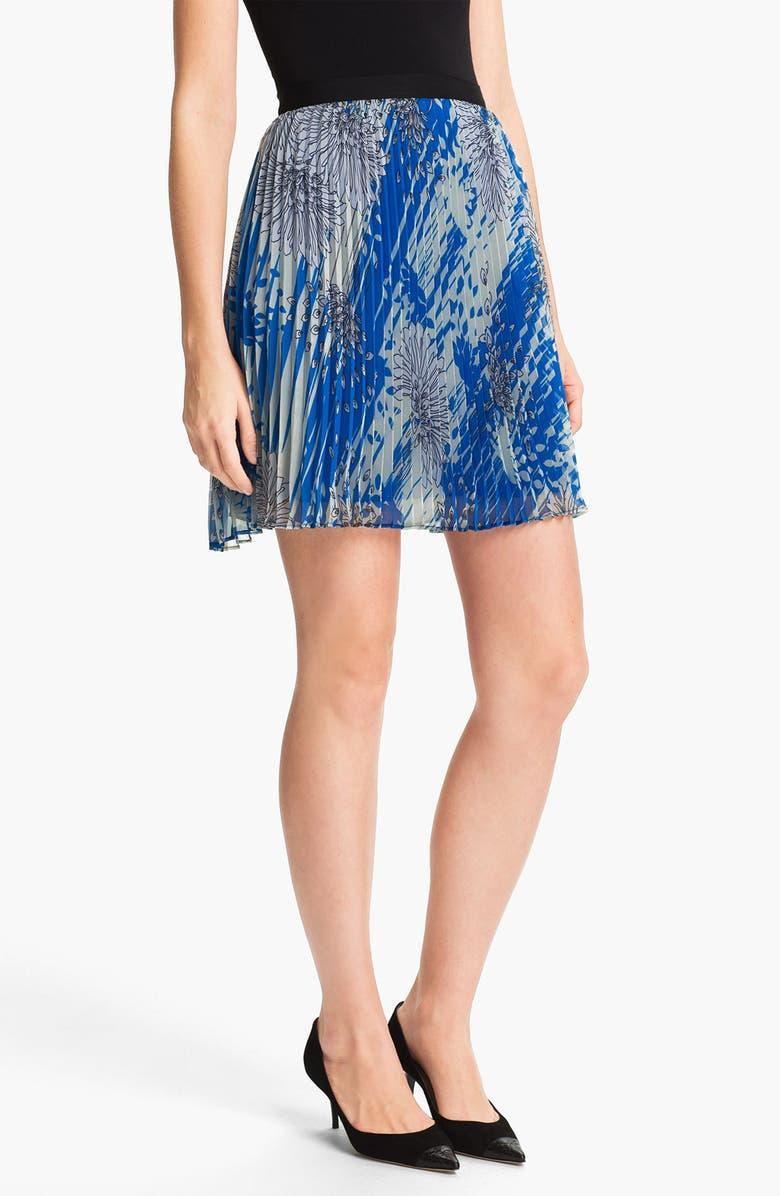 MISS WU Print Chiffon Skirt, Main, color, 420
