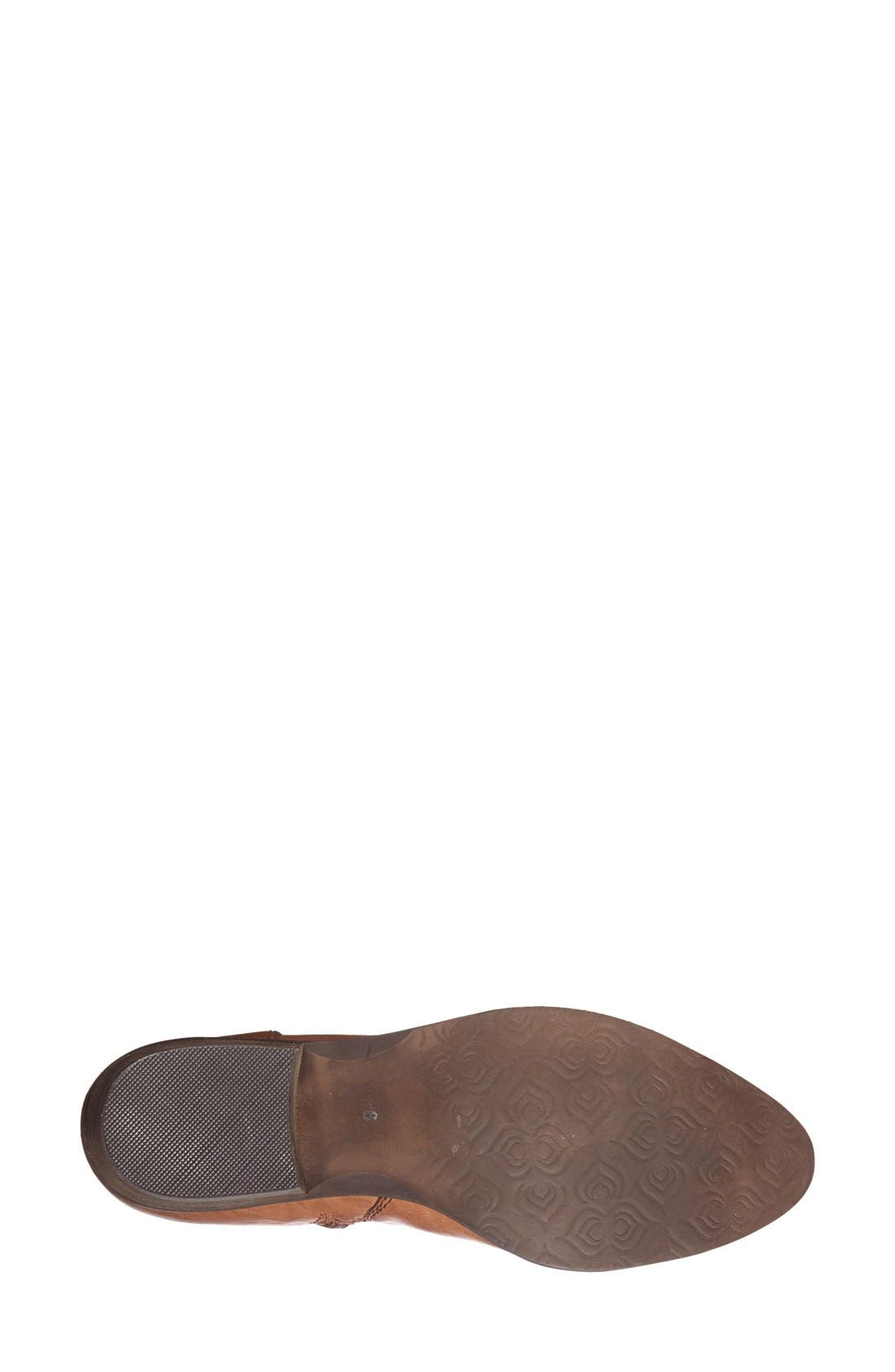 ,                             'Rozamare' Leather Ankle Bootie,                             Alternate thumbnail 7, color,                             201
