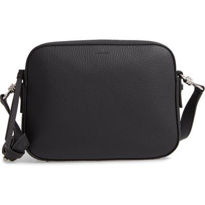 Allsaints Captain Lea Leather Crossbody Bag - Black