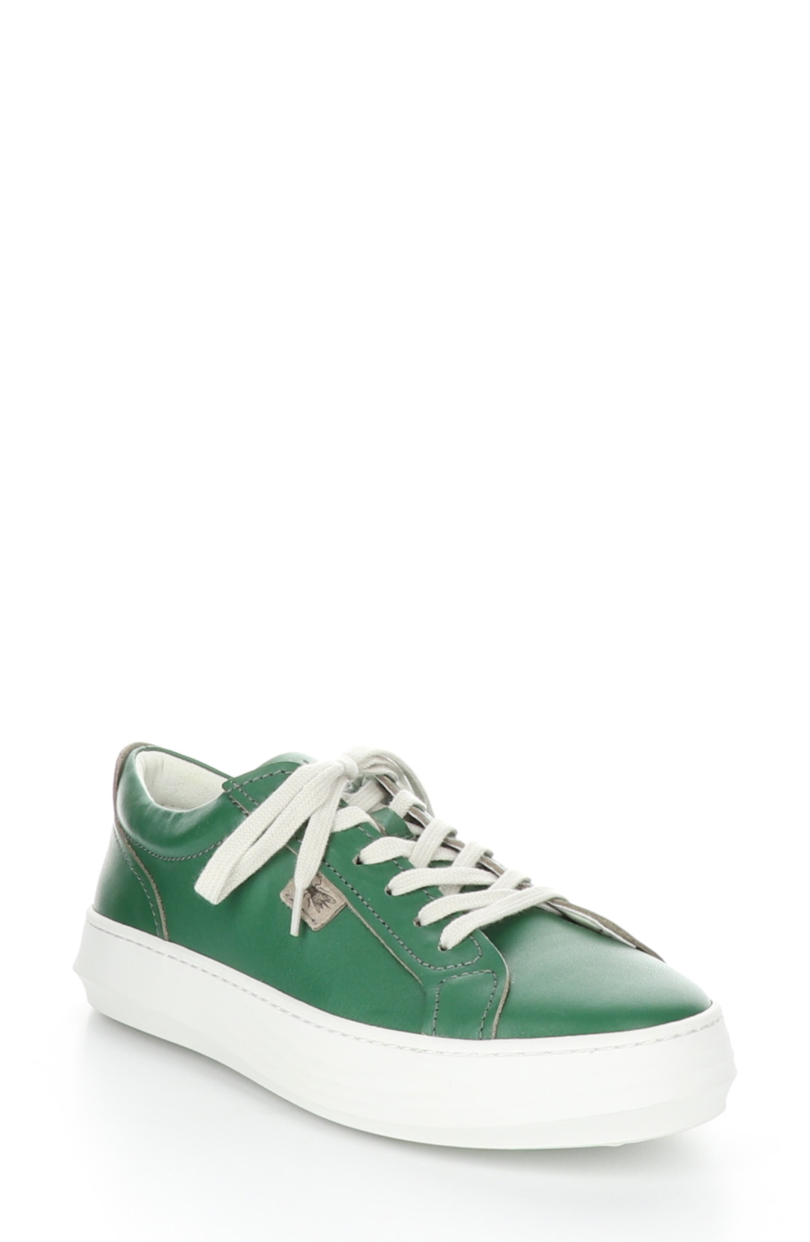 A padded collar and footbed add to the comfort of an easy lace-up sneaker polished in smooth leather. Style Name: Fly London Cive Sneaker (Women). Style Number: 6002343. Available in stores.